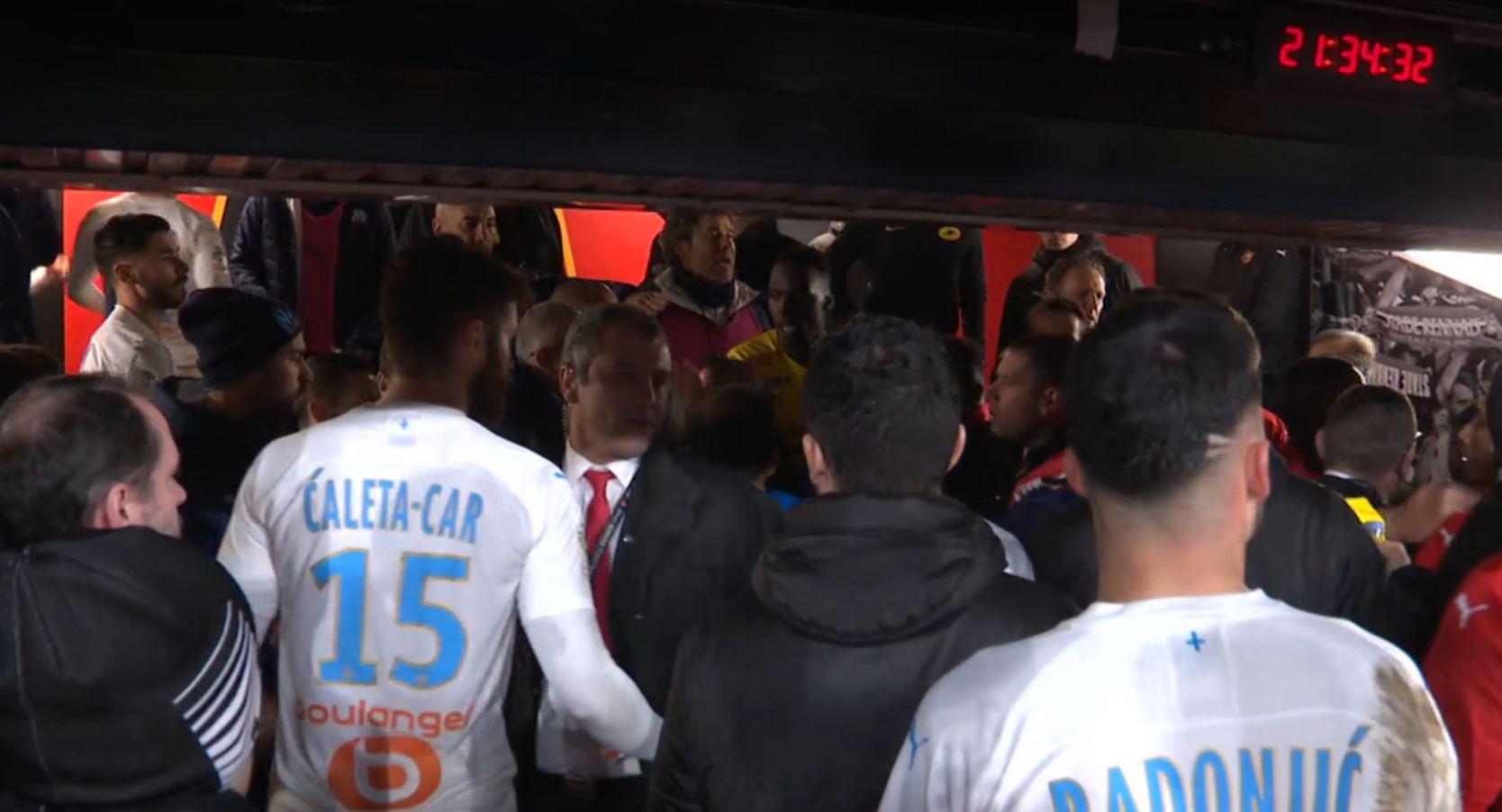 Rennes/OM (0-1) - Rennes a envoyé un rapport à la LFP pour se plaindre du comportement de Kevin Strootman