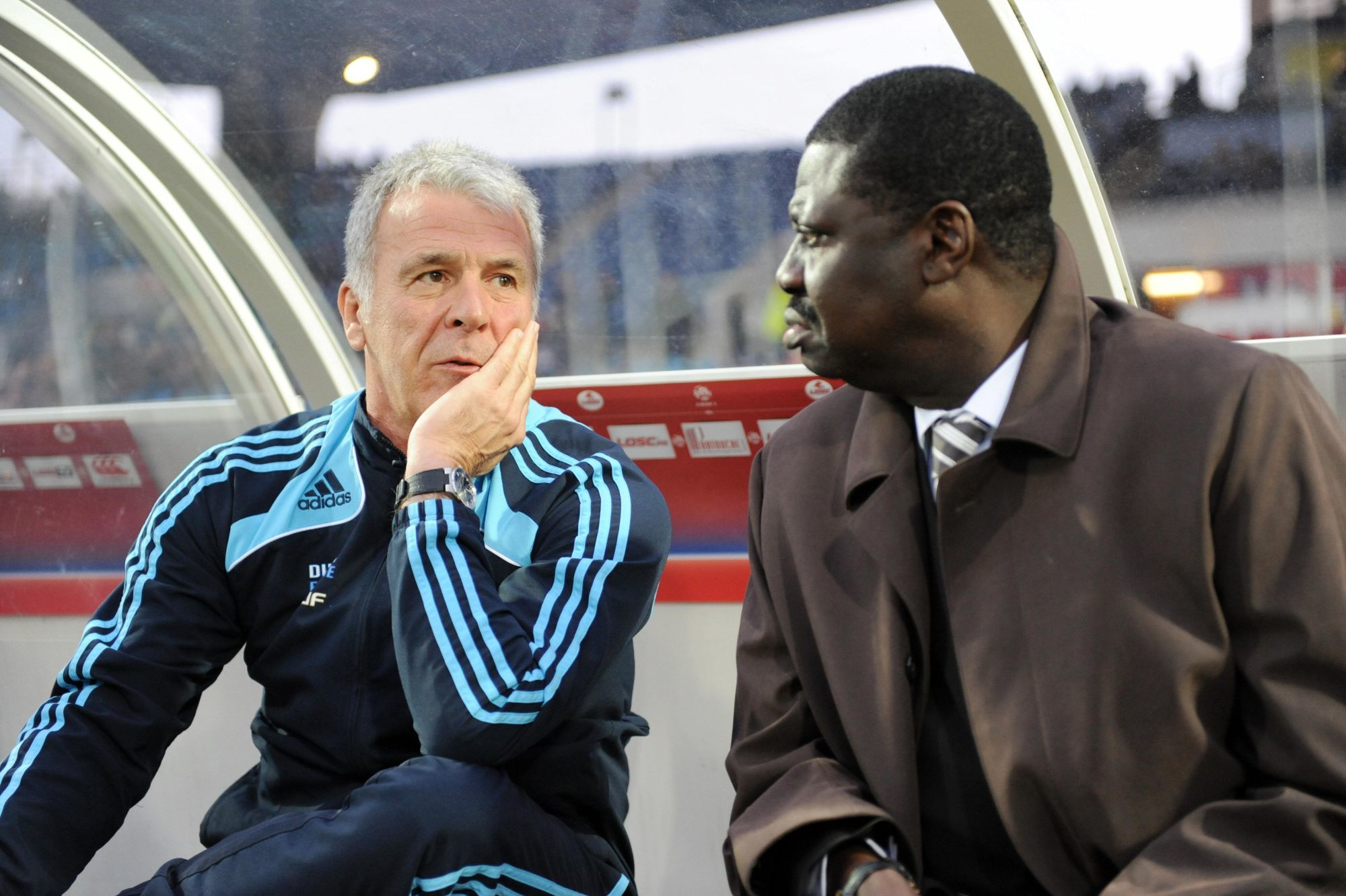 OM - Eric Gerets rend hommage à son ami Pape Diouf