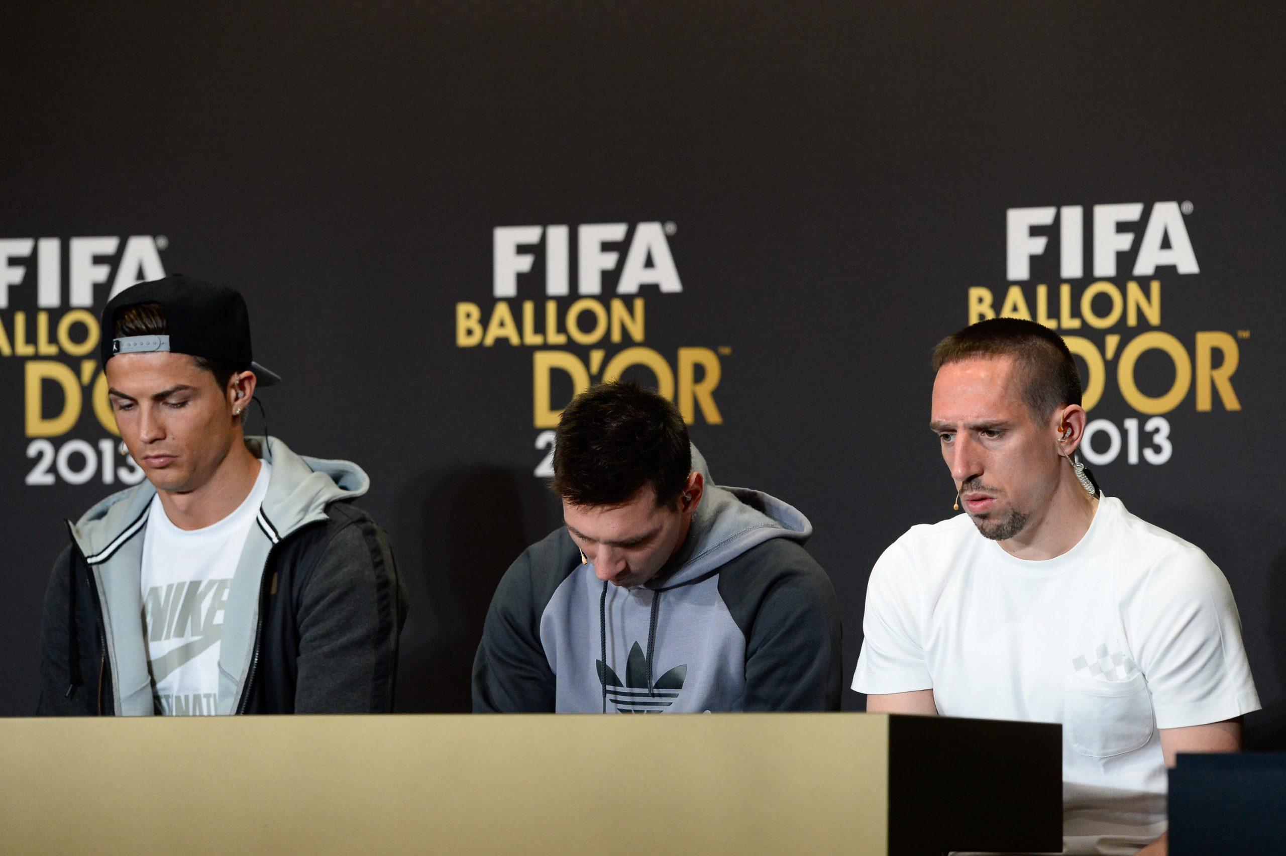 Ex-OM : Ribéry n'a toujours pas digéré sa 3ème place au Ballon d'Or 2013