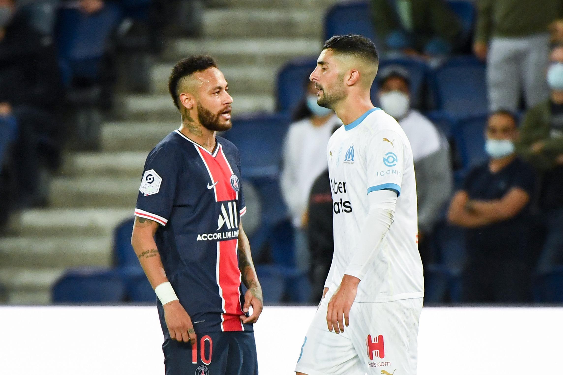 PSG/OM (0-1) - Neymar aurait eu des propos homophobes envers Alvaro