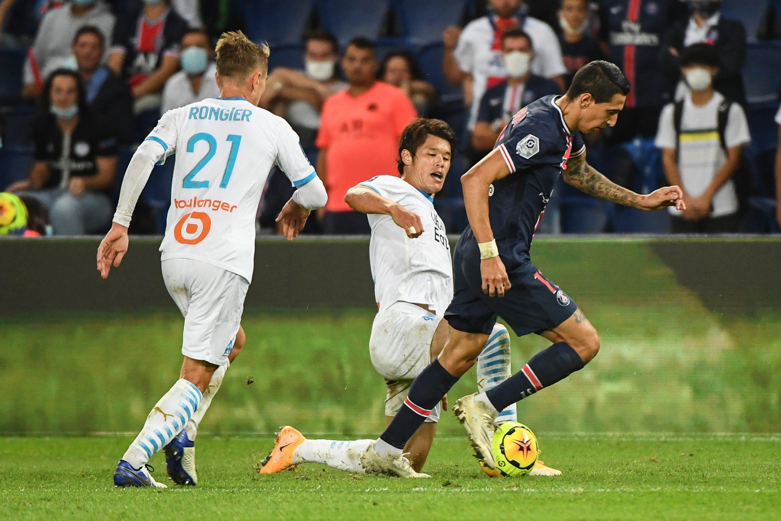 """PSG/OM (0-1) - Téléfoot n'a """"aucune image"""" du crachat de Di Maria"""