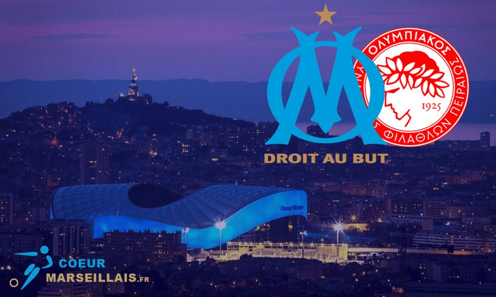 Streaming OM/Olympiakos : où voir en live le match