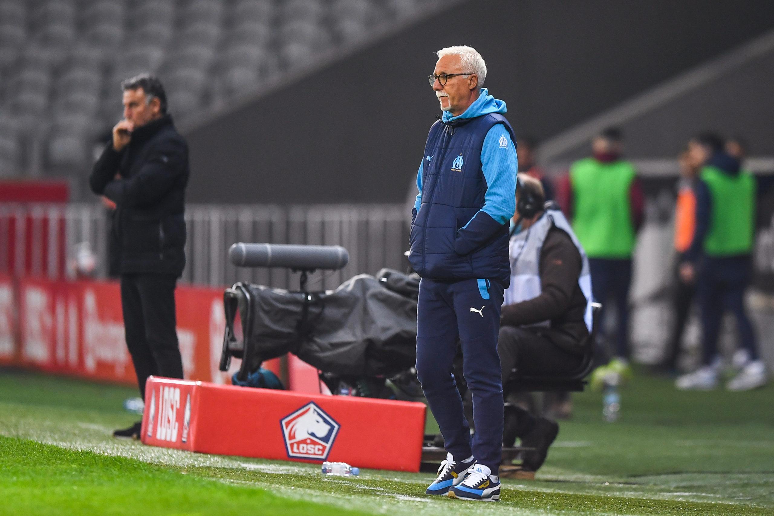 """Lille/Marseille (2-0) - Larguet : """"Je suis très déçu pour les joueurs"""""""