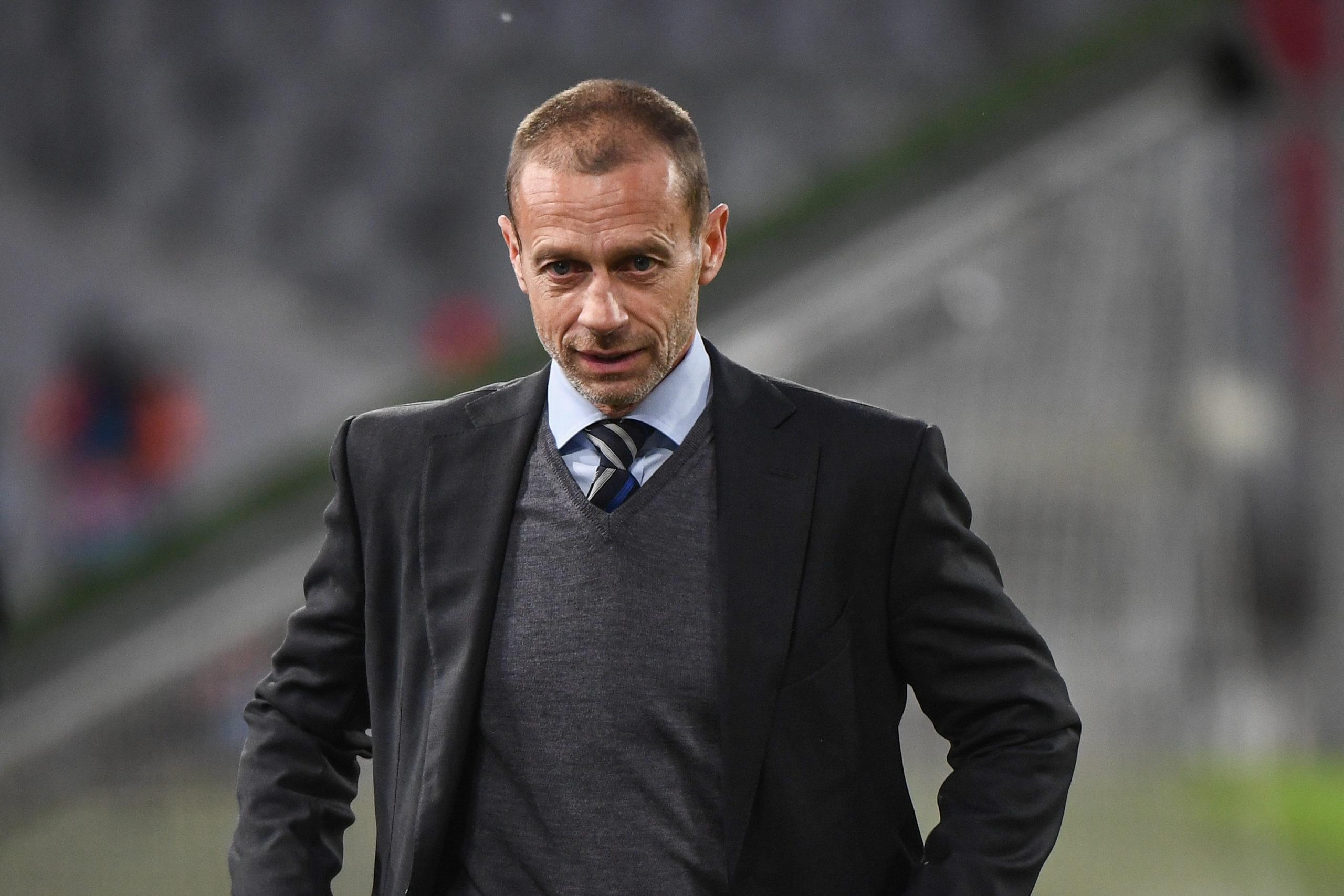 """SuperLeague - Aleksander Ceferin : """"Les clubs devraient se rappeler d'où ils viennent"""""""