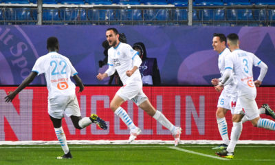 Montpellier/OM (3-3) - Lucas Perrin va savourer son but