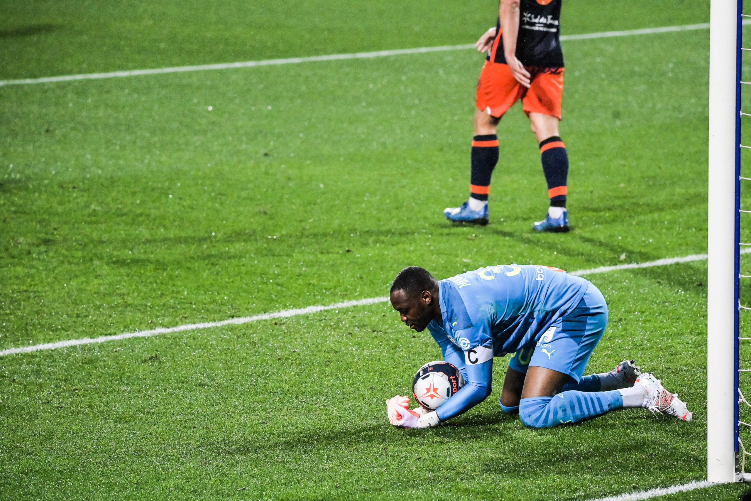 Montpellier/OM (3-3) - Steve Mandanda déçu du résultat