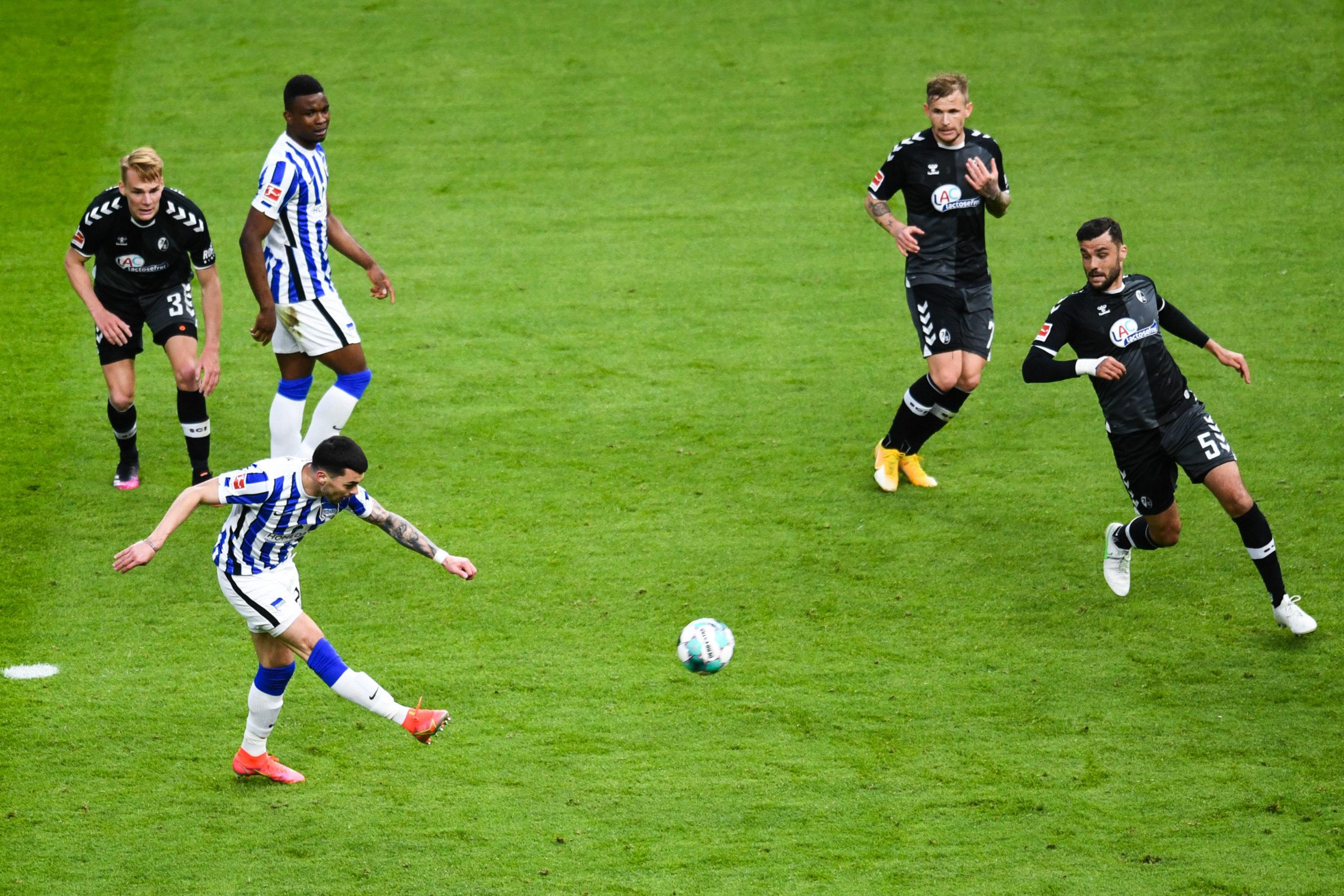 OM - Nemanja Radonjic marque un joli premier but avec le Hertha Berlin