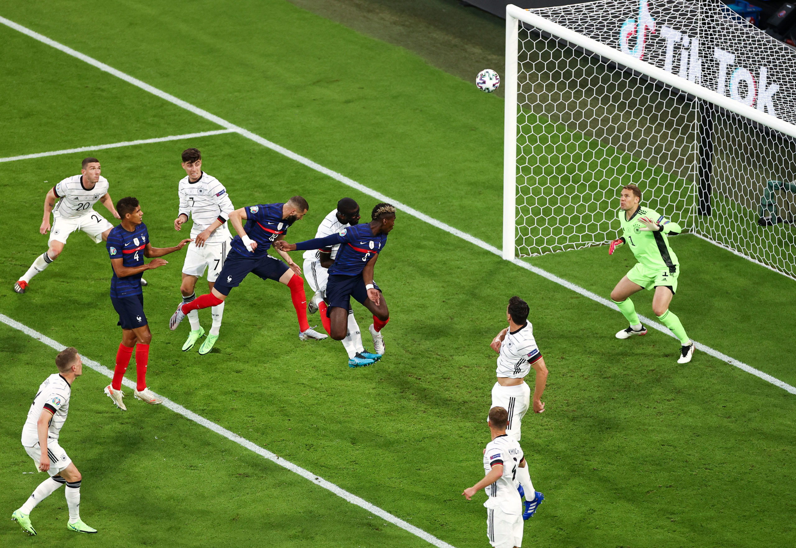 Allemagne/France - Le résumé vidéo et but de la rencontre