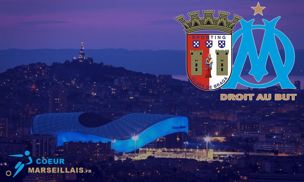 Braga/OM - Le onze officiel de Jorge Sampaoli