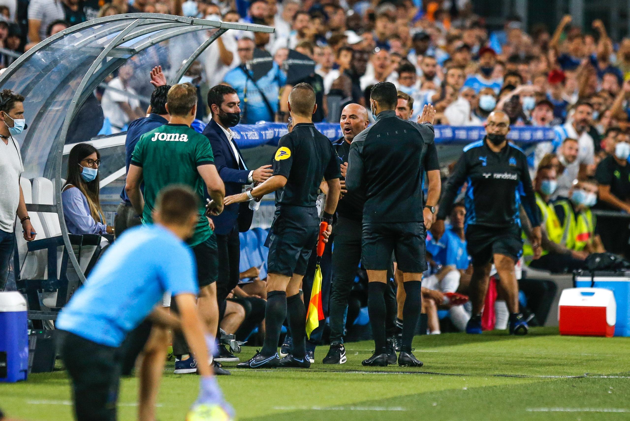 OM/Villarreal (2-1) - Emery et Sampaoli tout proche d'en venir aux mains