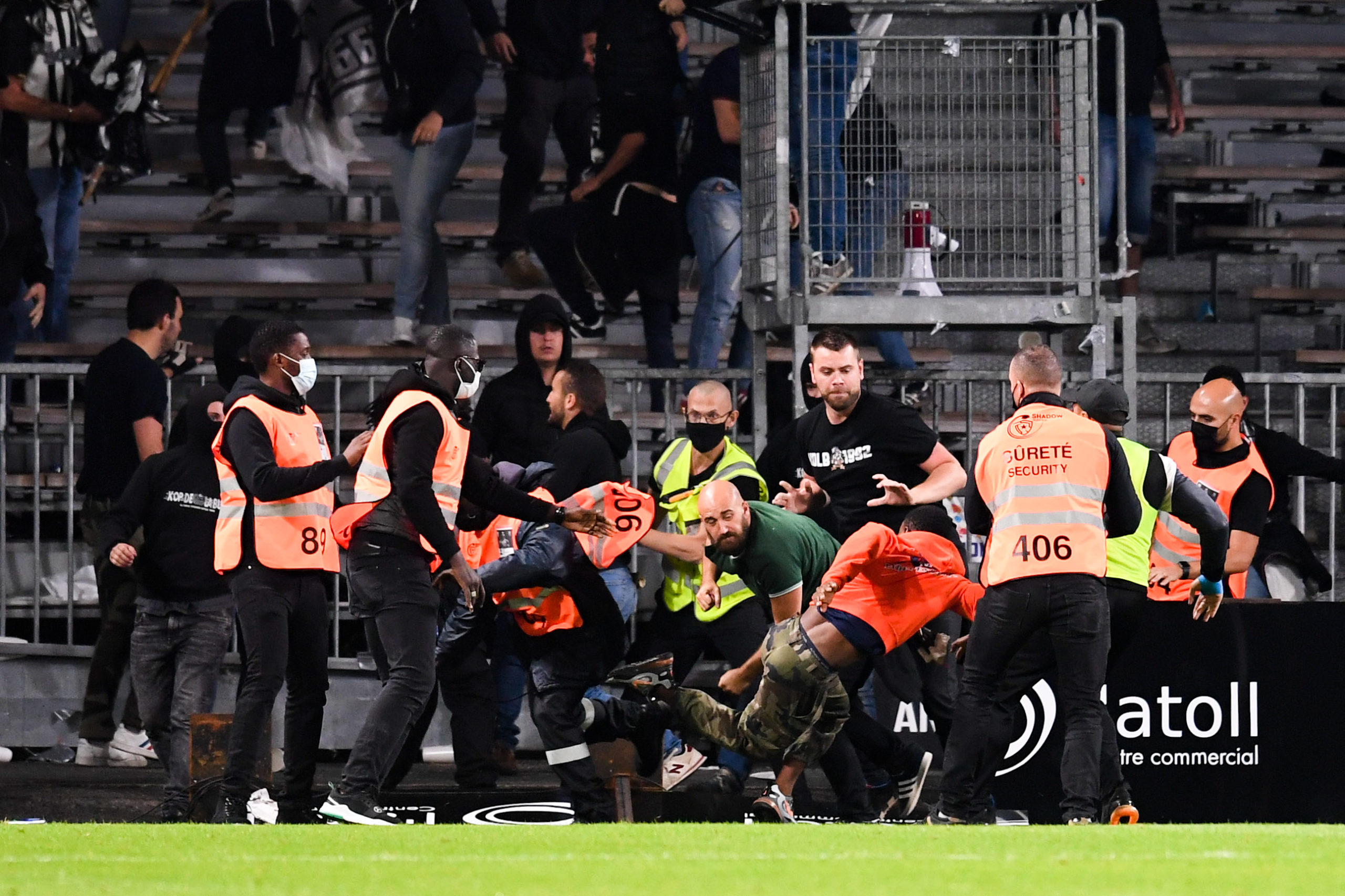 Angers/OM (0-0) - Le SCO réagit aussi aux débordements en tribune