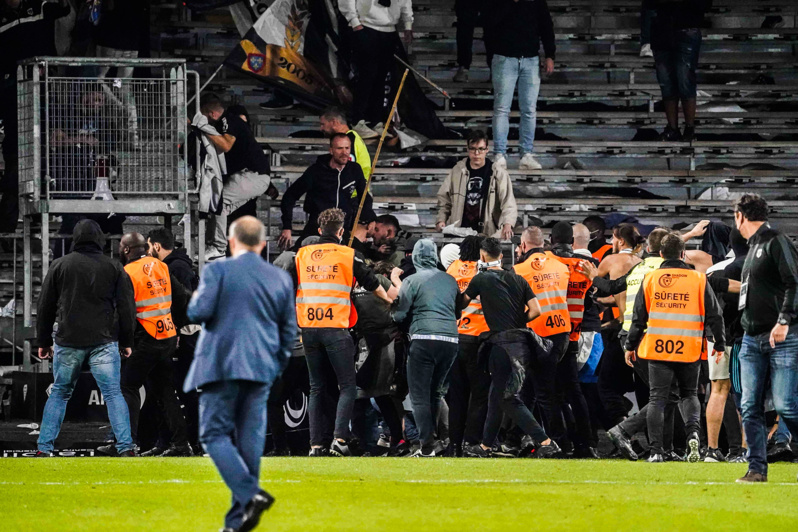 L1 - Frédéric Thiriez est pour l'interdiction de stade