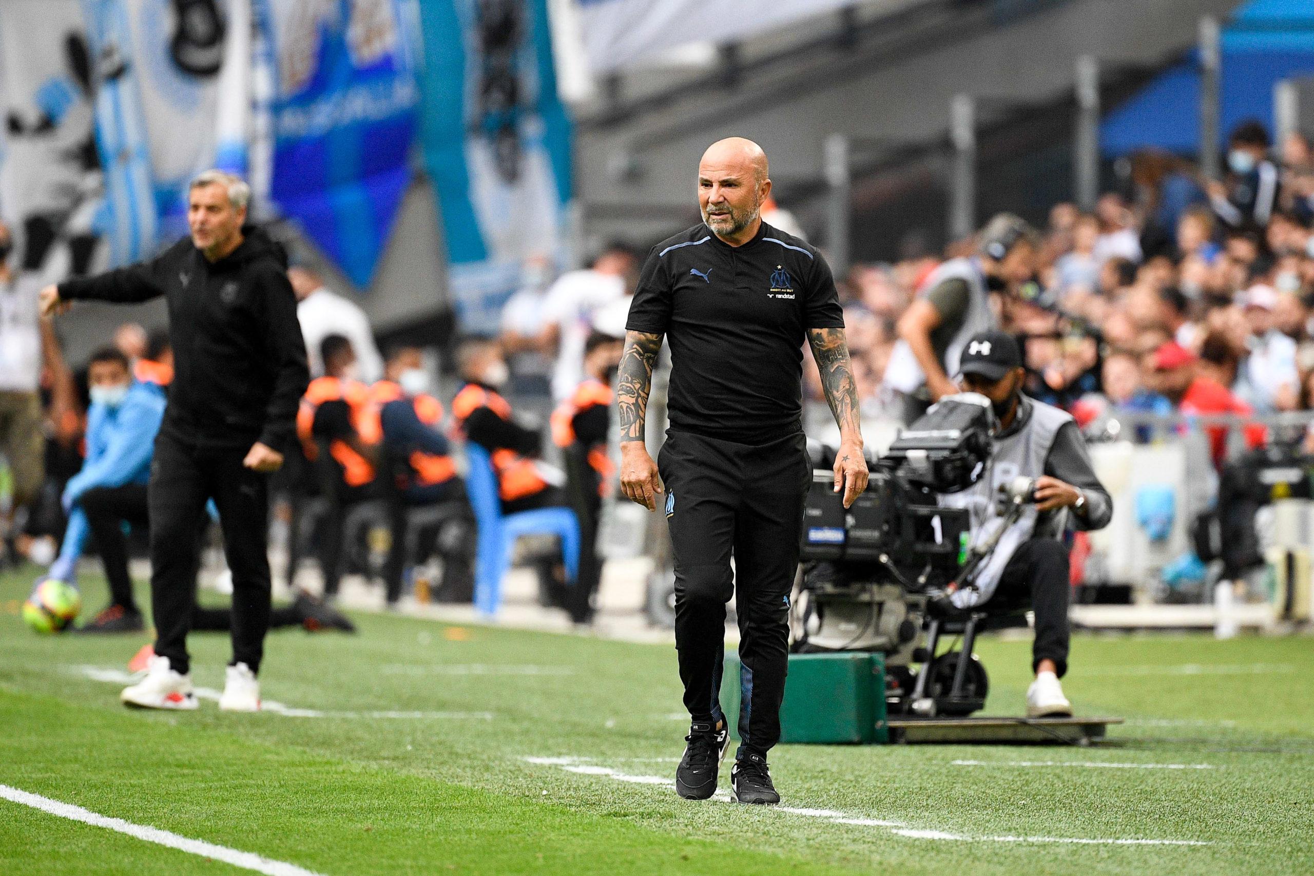 """OM/Rennes (2-0) - Jorge Sampaoli : """"L'équipe a été vaillante"""""""
