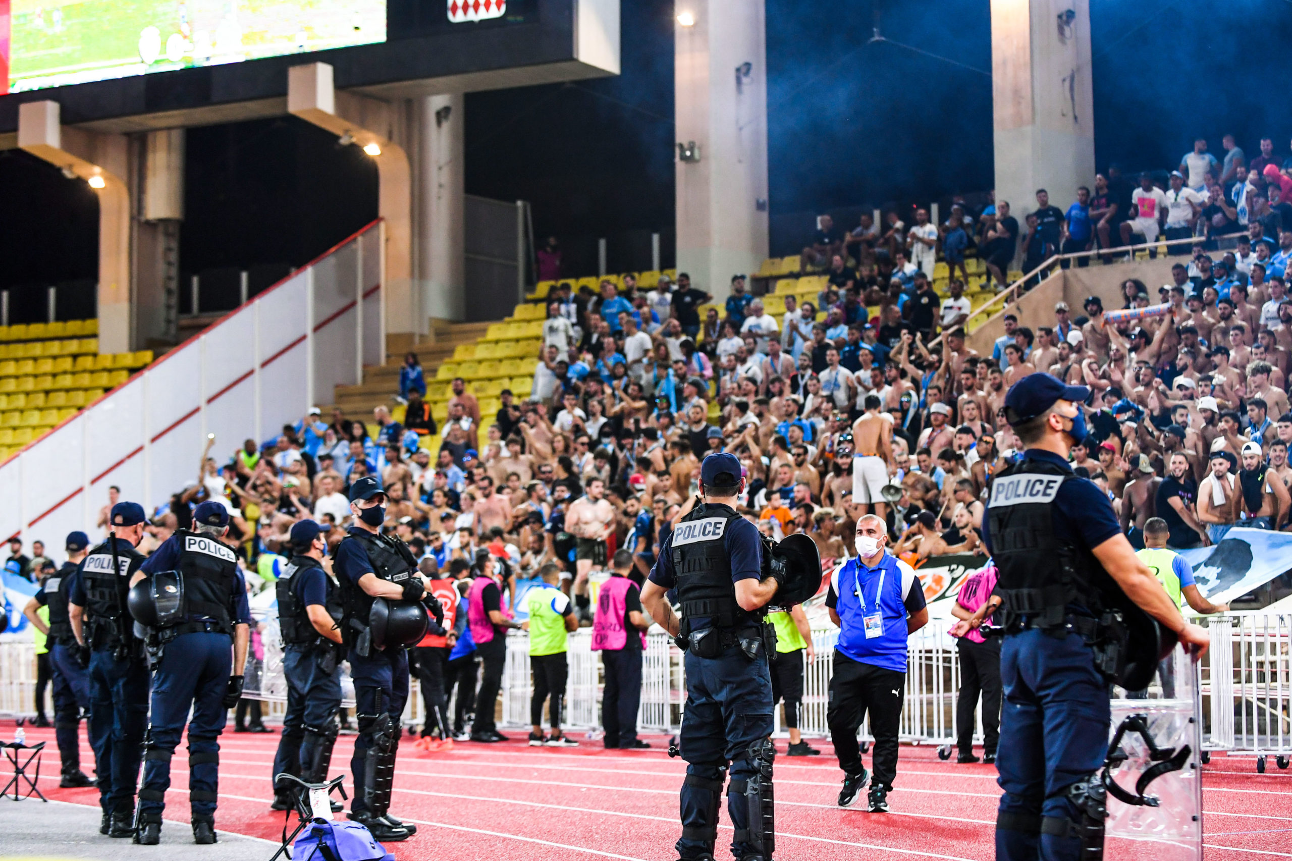 Monaco/OM - Les Ultras monégasques en colère contre l'organisation à Louis II
