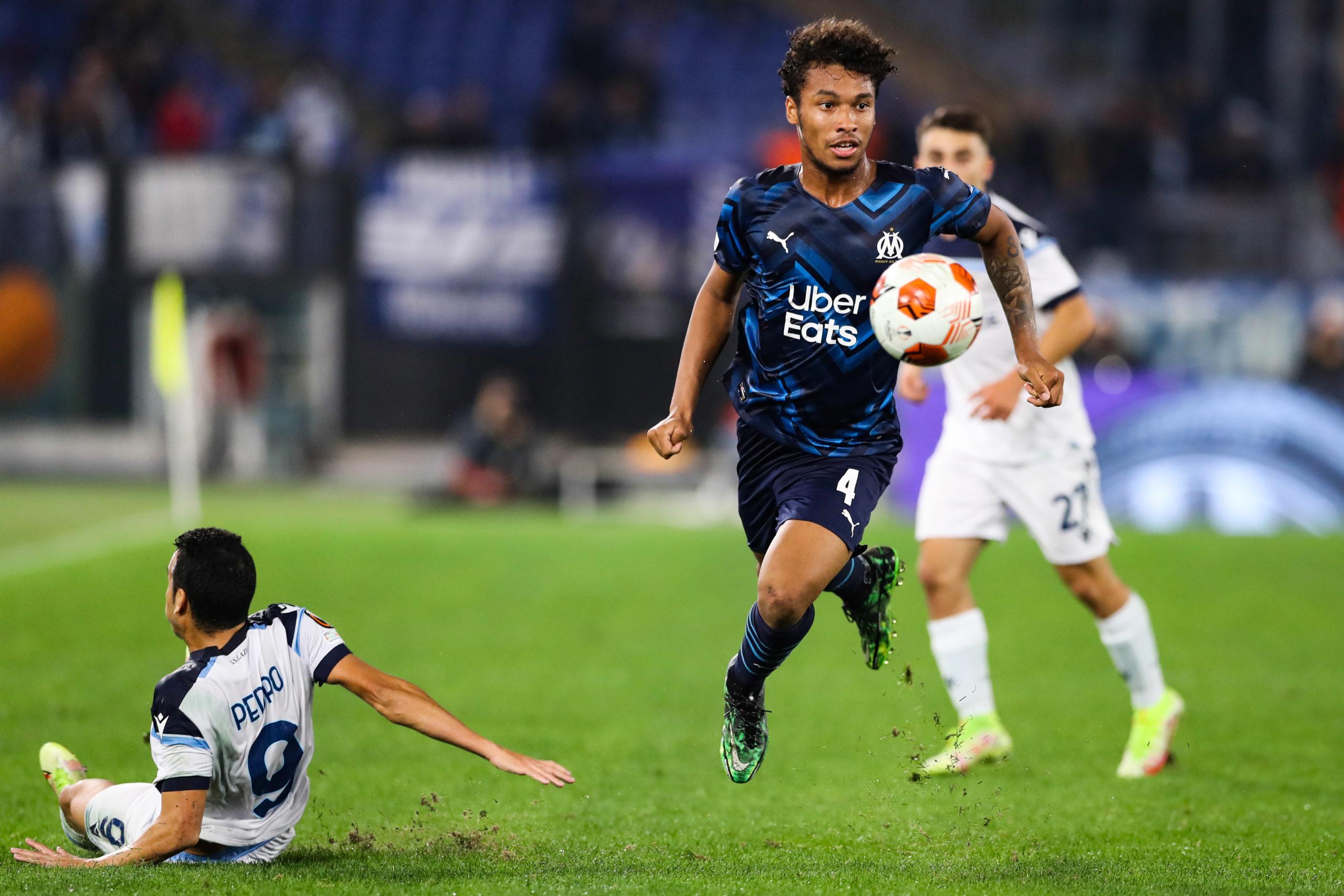 Lazio/OM (0-0) - Kamara satisfait du nul et pense déjà au Classico