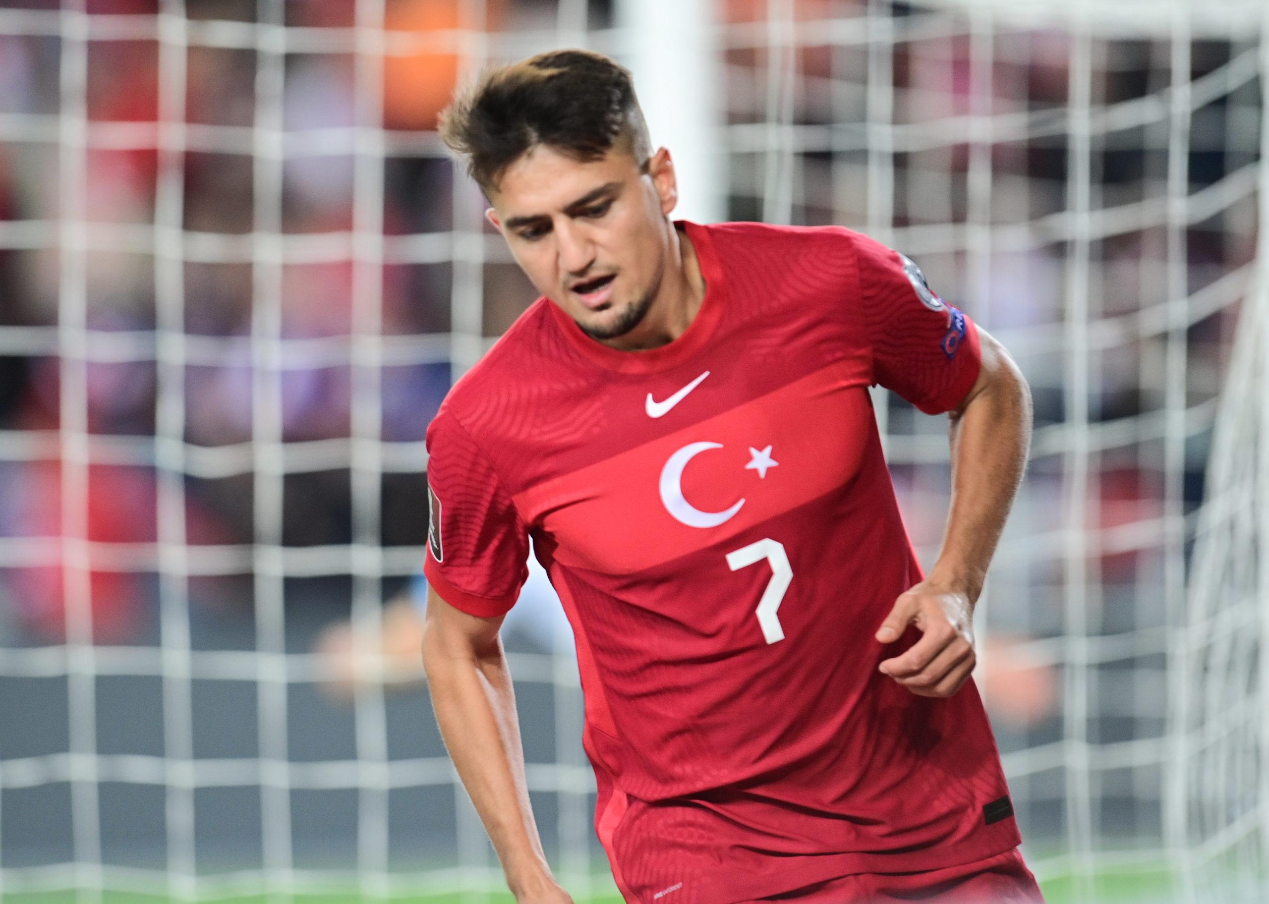 OM - Cengiz Under toujours flamboyant avec la Turquie