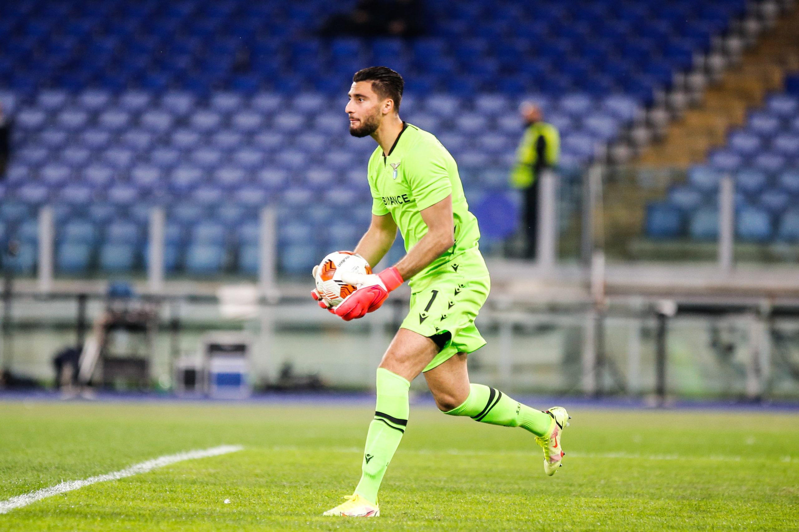 "Lazio/OM (0-0) - Strakosha : ""En seconde période, nous méritions de gagner"""