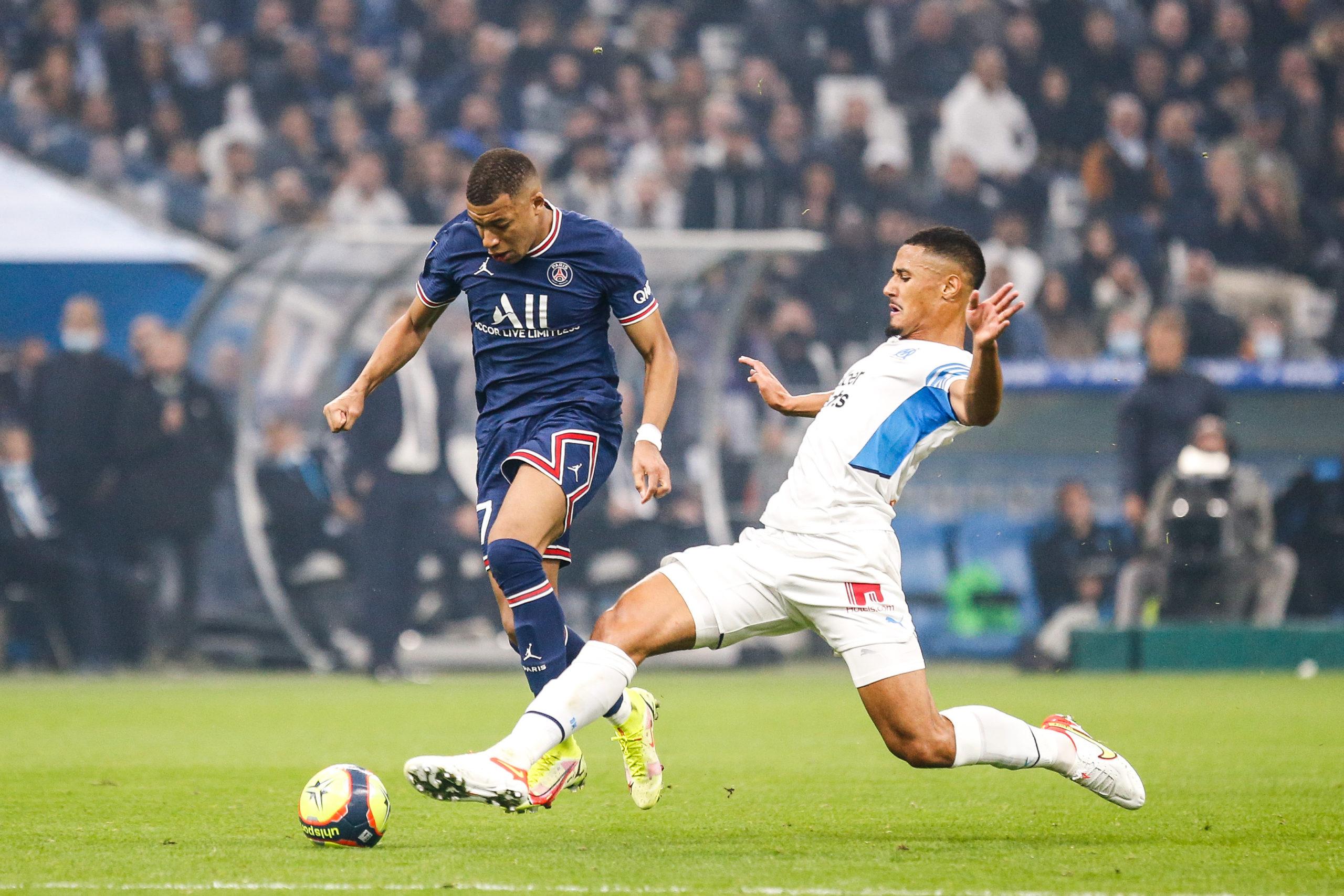 """OM/PSG (0-0) - Saliba : """"C'était le plus beau match de ma carrière"""""""